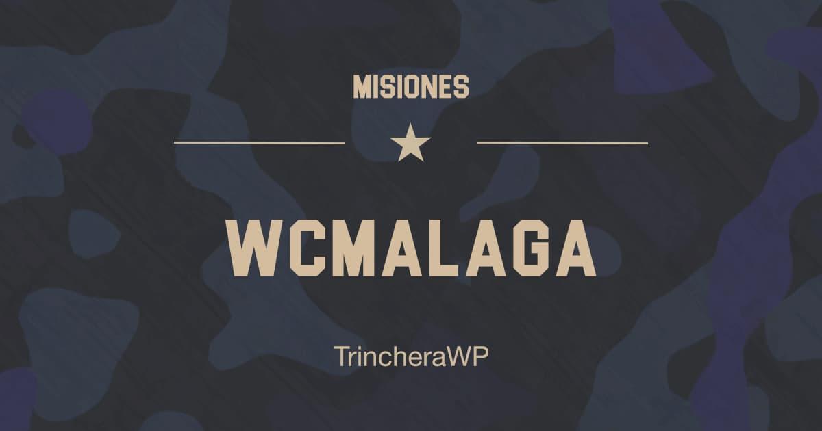 Misión WordCamp Málaga - TrincheraWP