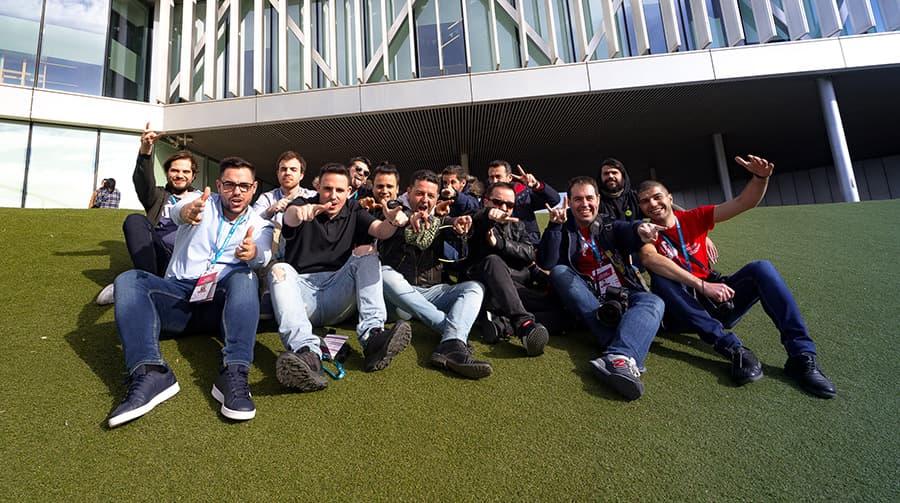 Familia TrincheraWP - WordCamp Zaragoza 2020