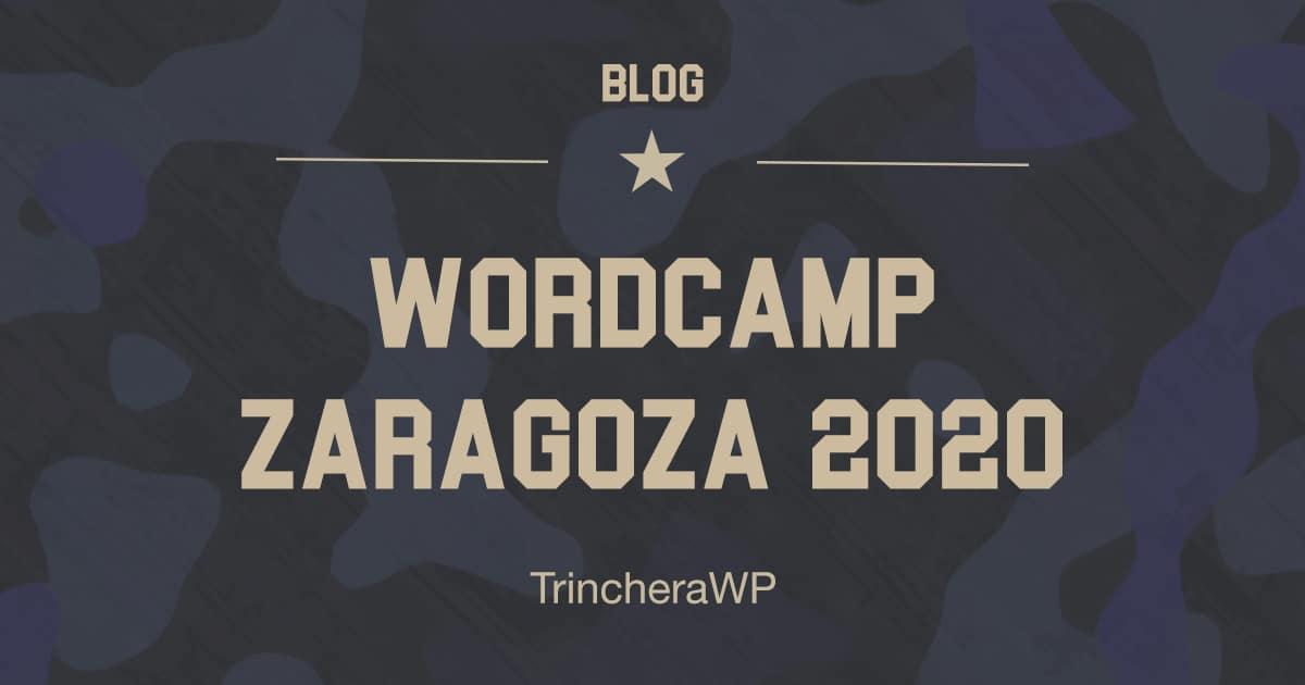 WordCamp Zaragoza 2020 - TrincheraWP