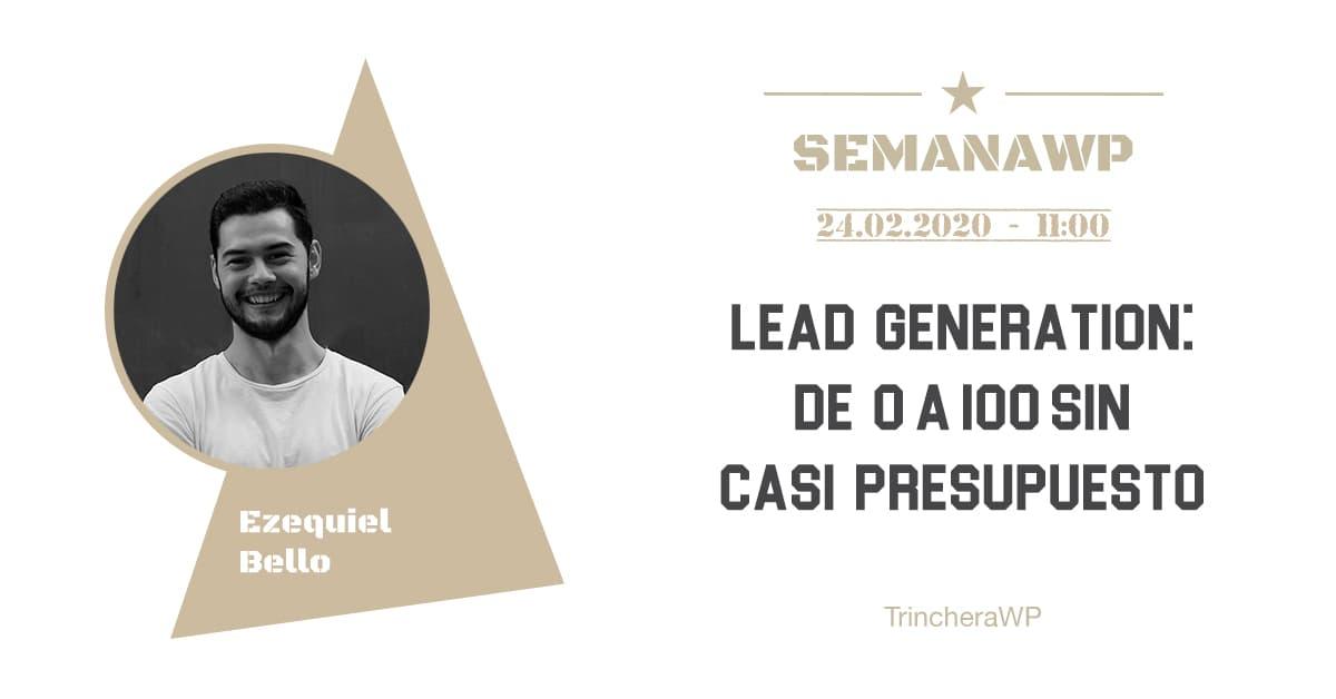 Lead Generation - TrincheraWP