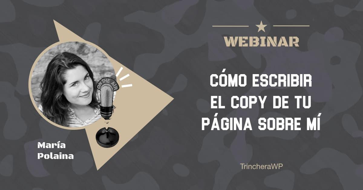 Webinar 20 - TrincheraWP