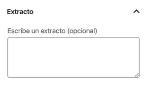 Extracto - TrincheraWP