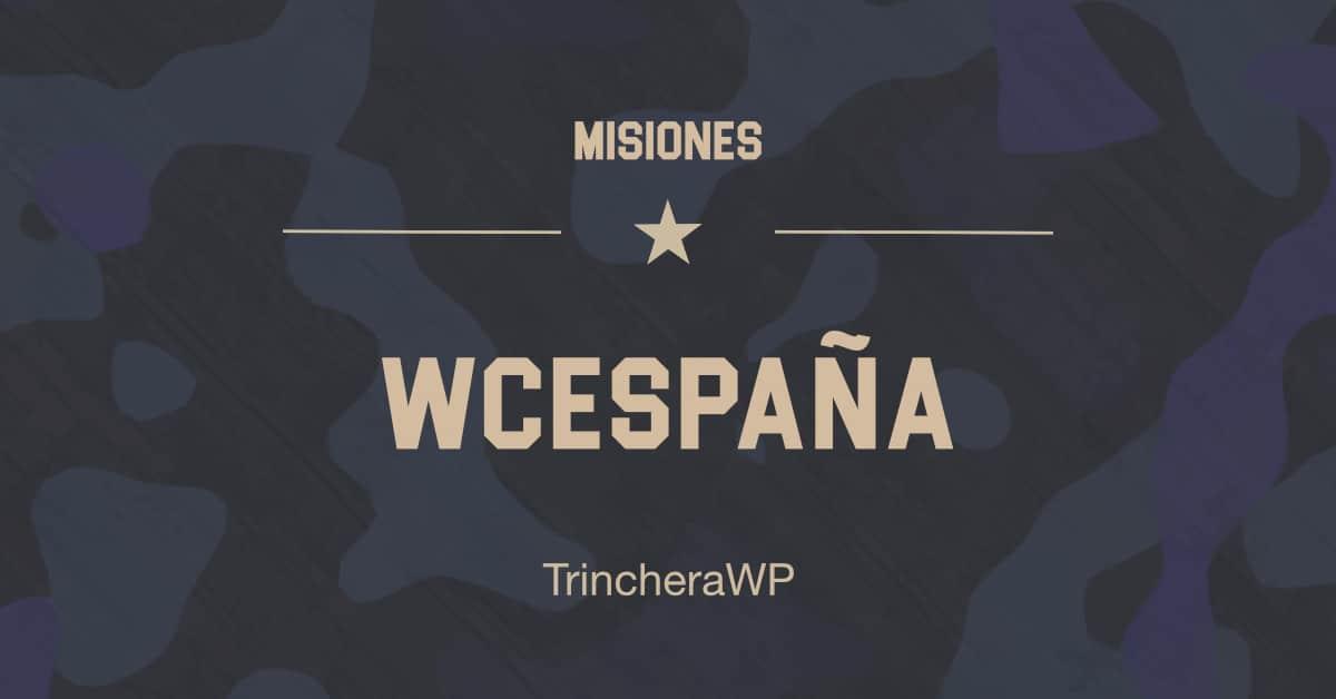 Misión WordCamp España - TrincheraWP