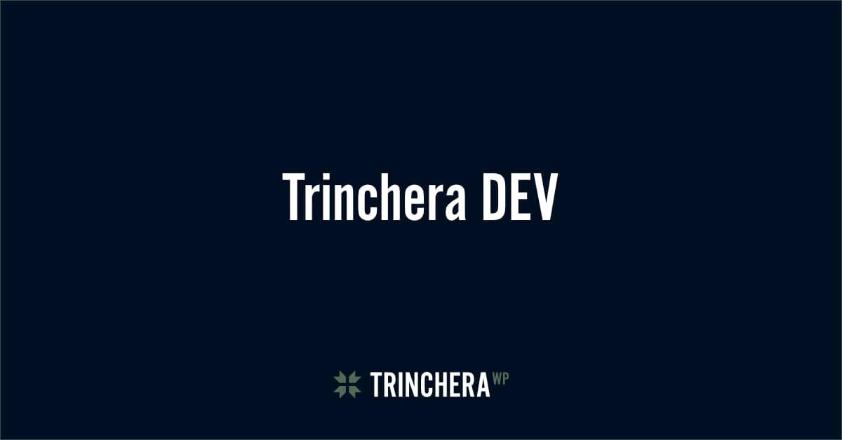 Curso Trinchera DEV