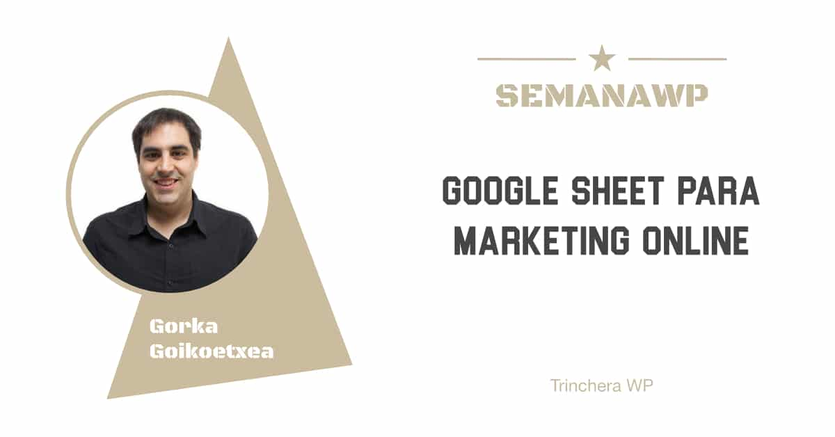 Google Sheet para marketing online