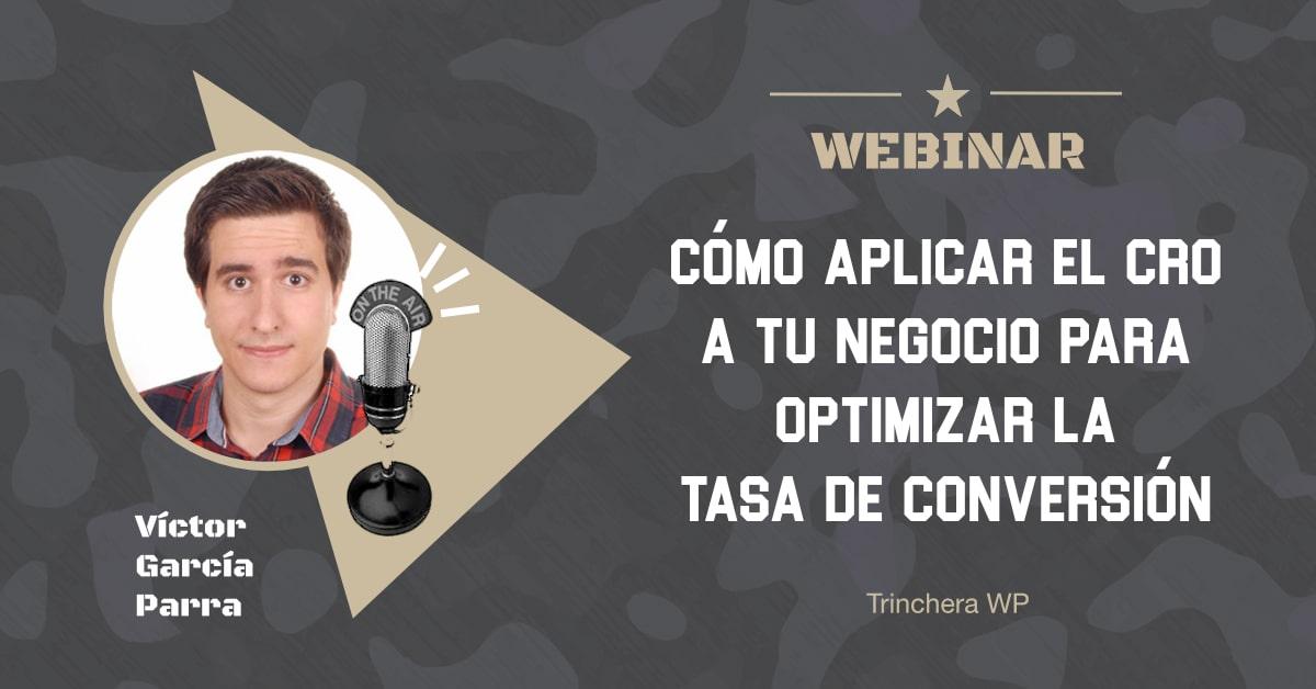 Webinar 31 - Trinchera WP