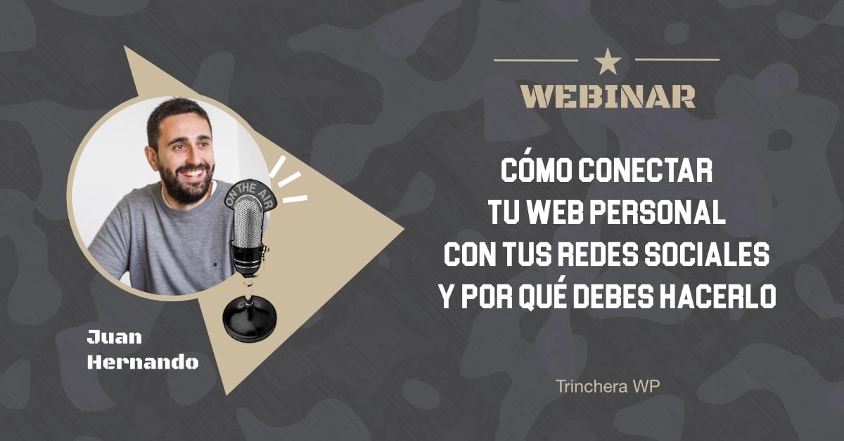 Conectar tu web con tus redes sociales - Trinchera WP