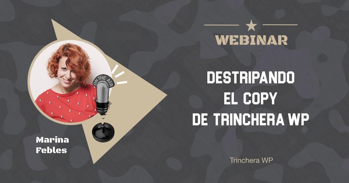 Destripando el Copy - Trinchera WP